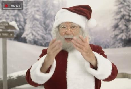 Papá Noel te felicita la Navidad
