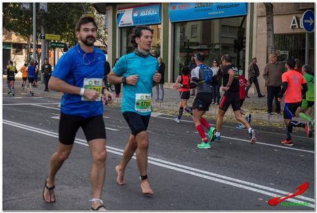 En la media maratón bastante enteros