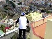 Danzando bicicleta tejados Palmas Gran Canaria