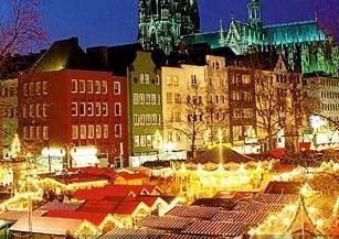 Mercado Navidad Colonia. Inshala. Fotografía: JamesPageEditor
