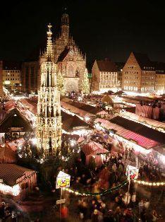 Mercado Navidad Nuremberg. Inshala. Fotografía: Roland Berger
