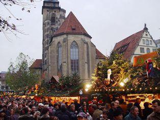 Mercado Navidad Stuttgart. Inshala. Fotografía: WolfHD