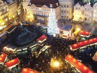 Mercado Navidad Praga. Inshala. Fotografía: Hynek Moravec