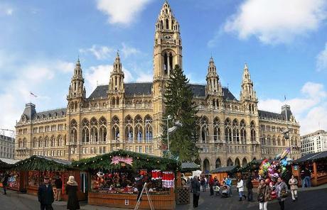 Mercado Navidad Viena. Inshala. Fotografía: Bohringer Friedich