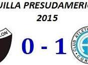 Colón:0 Belgrano:1 (Segundo Partido)