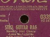 Steel Guitar Rag. Leon McAuliffe, 1936