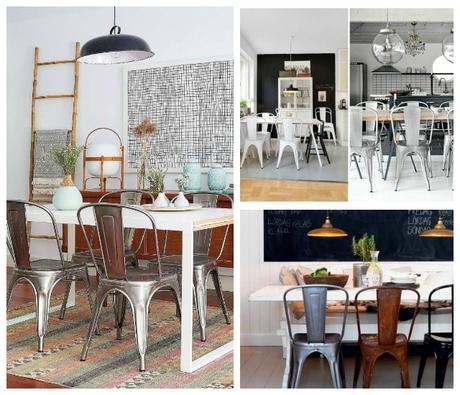 Como definir el estilo de un comedor con las sillas for Comedor sillas diferentes