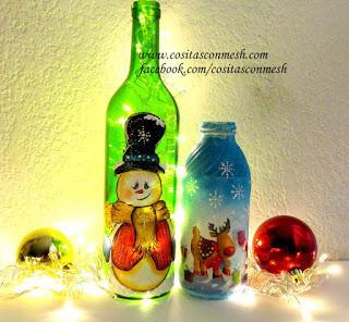C mo decorar botellas con luces paso a paso paperblog - Botellas con luces ...