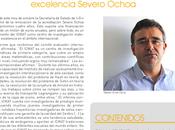 Disponible último boletín ICMAT 2015, coincide renovación Programa Severo Ochoa