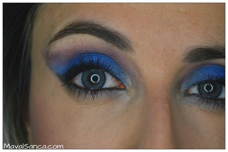 Maquillaje Festivo: Rosa, Plata y Azul // Party Makeup: Pink, Silver and Blue