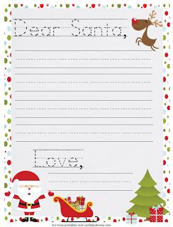 Carta a Papa Noel . Imprimibles.
