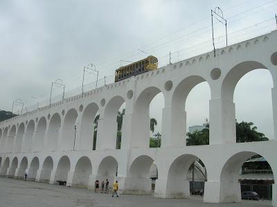Arcos de Lapa, Aqueduto da Carioca, Rio Janeiro, Brasil, La vuelta al mundo de Asun y Ricardo, round the world, mundoporlibre.com