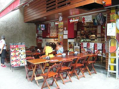 Bar bunda de Fora, Rio de Janeiro, Brasil, La vuelta al mundo de Asun y Ricardo, round the world, mundoporlibre.com