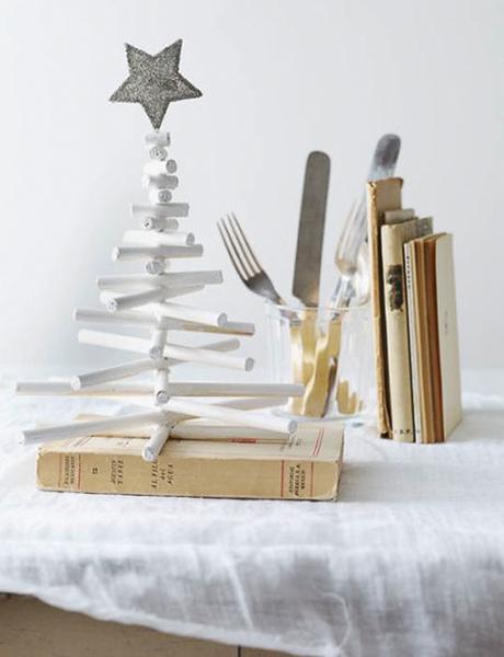 Arbol Navidad de madera: Una manera diferente de decorar.