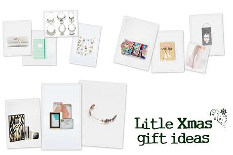 LITTLE XMAS GIFT IDEAS