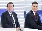 Pedro Sánchez Mariano Rajoy, gallos pelea corral político desgastado
