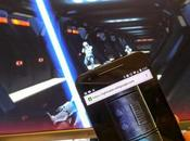 Aplicación convierte celular espada laser