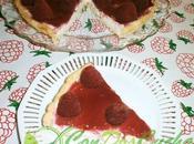 Tarta nata frambuesas