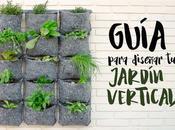 Guía para diseñar jardín vertical comestible [con éxito]