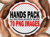 Pack Imágenes Manos (Imágenes Fondo)