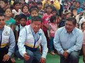 Niños cañetanos reciben regalos gore lima…