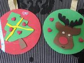 Adornos navidad cd´s reciclados goma eva, reto infantil