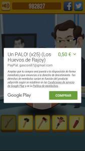 Compras en los HUevos de Rajoy