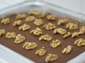 Receta Brownie chocolate, naranja nueces