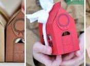 Cómo hacer cajas regalo forma casita