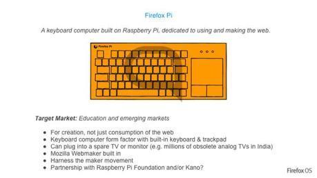 Mozilla trabaja en una tablet, un stickTV, un teclado inteligente y un router