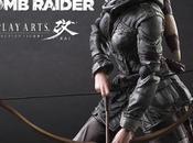 figura Rise Tomb Raider, diseñada Play Arts Kai, disponible para reservar