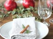 #Navidad decoracion última hora para mesa.