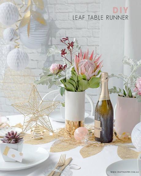 New year tutorial para decorar la mesa de fin de a o - Decoracion mesa fin de ano ...