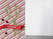 Tarjetas Navidad. Ciervo