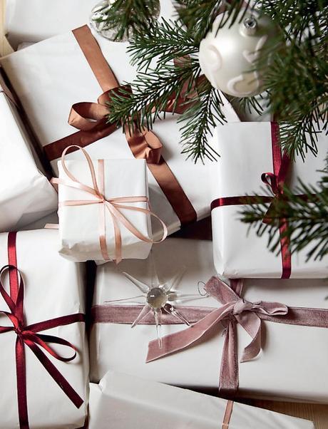 Una navidad nórdica de estilo clásico renovado