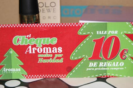 AROMAS BEAUTY BOX.