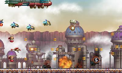 Impresiones con Steel Empire, la revisión de un shooter clásico que llega hasta 3DS