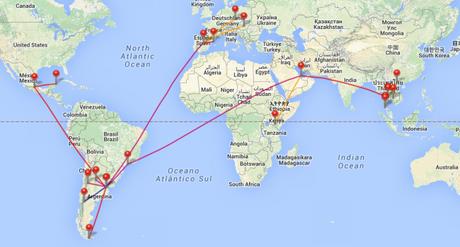 Viajes y vuelos 2015
