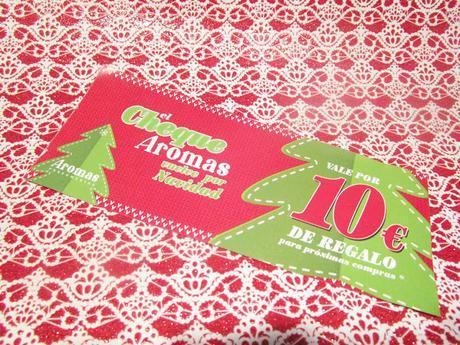 Beauty Box Navidad de AROMAS PERFUMERÍAS...Clarins, Loewe y Max Factor.