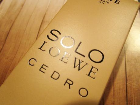 Eau de Toilette Solo Loewe Cedro