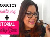 Productos Favoritos 2015 Maquillaje diario paso