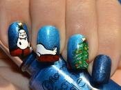 Nail Snoopy Navidad