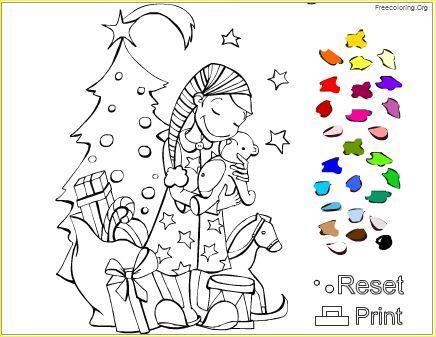 5 Dibujos De Navidad Para Colorear Online Paperblog