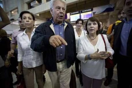 El vínculo entre Felipe González y Leopoldo López.