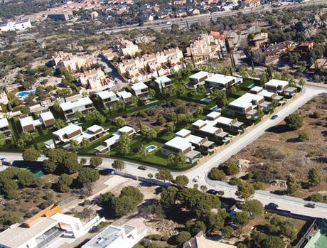 Promociones residenciales dise adas por a cero ii paperblog - Urbanizacion la finca madrid ...
