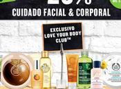 Body Shop: descuento cuidado facial corporal