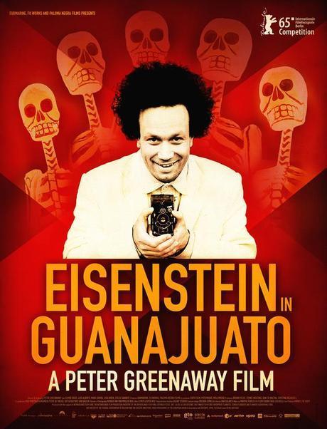 estrenos cartelera cine españa 8 enero 2016 Eisenstein en Guanajuato