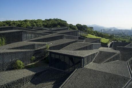 MUSEO FOLK DE LA ACADEMIA CHINA DE ARTE EN HANGZHOU, OBRA DE KENGO KUMA
