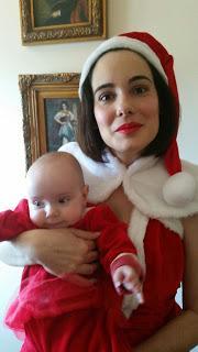 Mis primeras Navidades de Mama Noel ! Os deseo Felices Reyes Magos!
