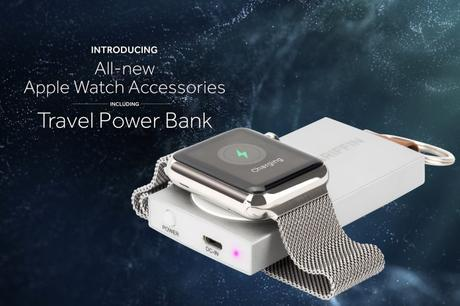 Griffin CES 2016: Travel Power Bank accesorio para mantener cargado de energía a tu Apple Watch (ideal para un uso exigente)